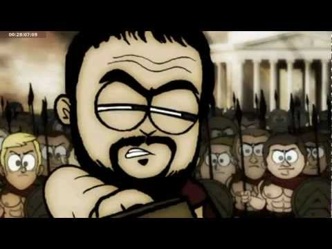 Explanation of future economic crisis in a funny animation