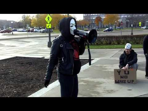 Million Mask March Minnesota 2015 part  9
