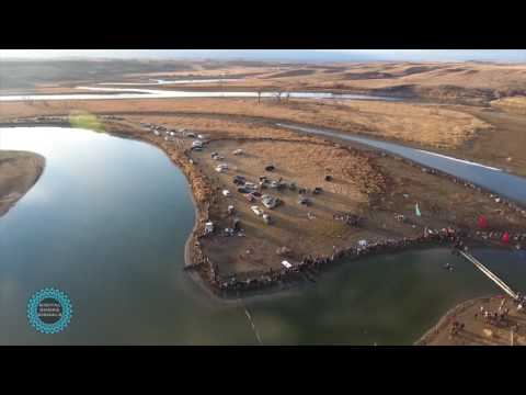 11/24/2016Water Ceremony with DAPL security, Morton County Police department and National Guird