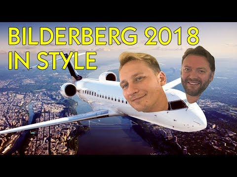 Flying To Bilderberg In A Private Jet