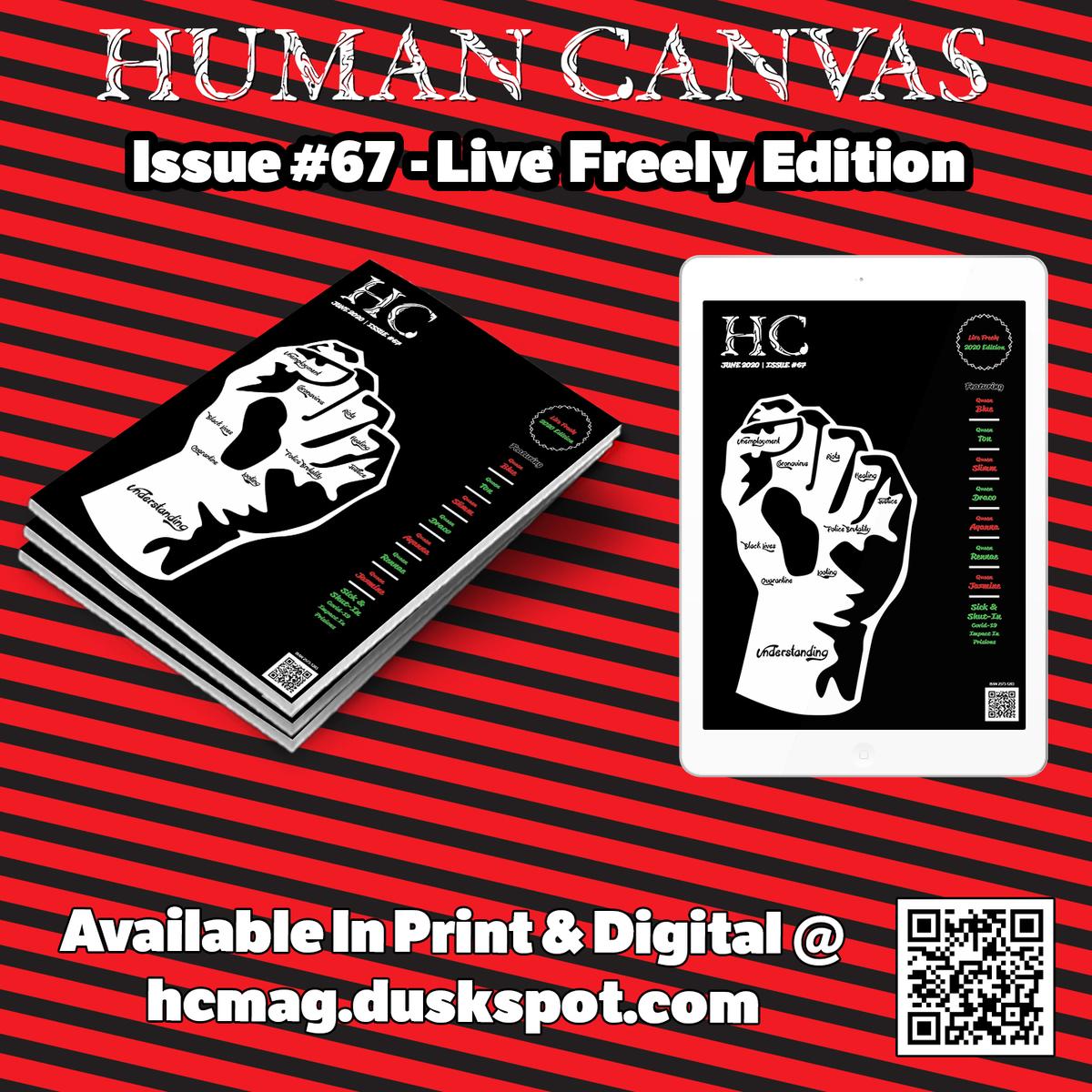Human Canvas Magazine - Issue #67