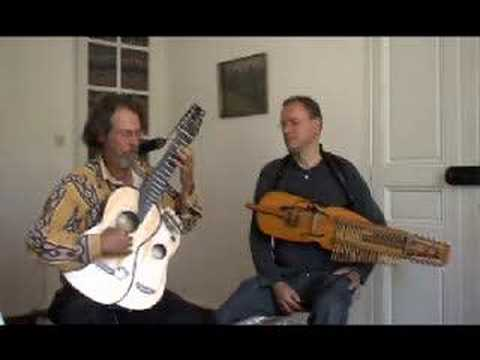 BARDOU-Blind Mary (O'Carolan) nyckelharpa and arch-harp guitar