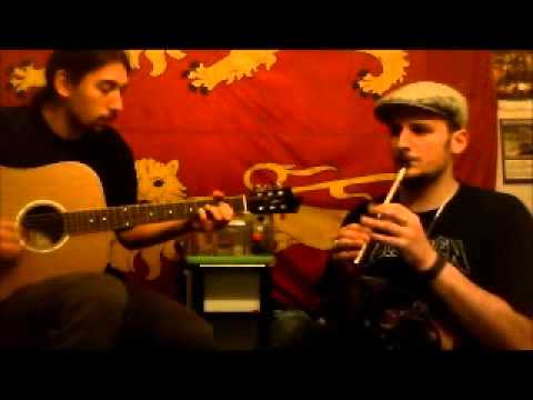 tin whistle & Guitare: Mountain road, Cooley's (reels)
