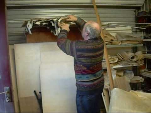 Paul McAuley making a Bodhran ~ Part 2!