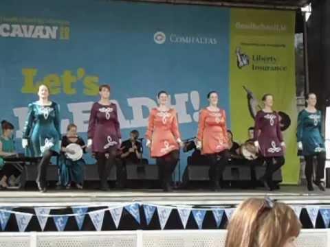 Bodhrán on Peace III Gig Rig at Cavan Fleadh 2012
