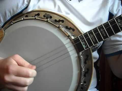 Tenor Banjo Reel (Rakish Paddy) CGDA tuning