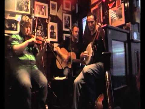 Some Irish tunes live at our sunday gig