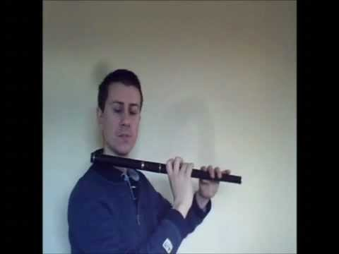 "Enda Seery Trad ""Flute Tutorial"" ""Irish Reel/The Famous Ballymote"""