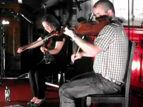 26th July 2012 Tara Connaghan & Derek McGinley at the Steeple Sessions