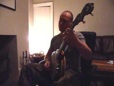 Col McBain on tenor banjo