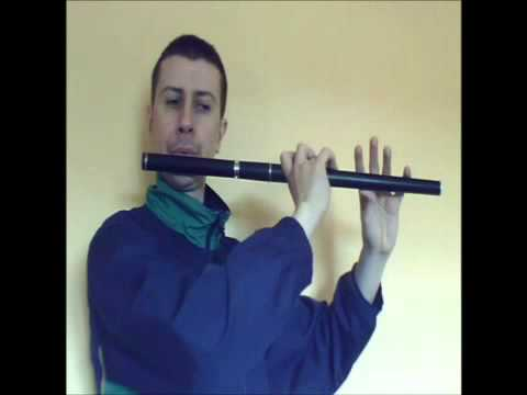 "Enda Seery Trad ""Flute Tutorial"" ""Irish Set Dance/The Three Sea Captains"""