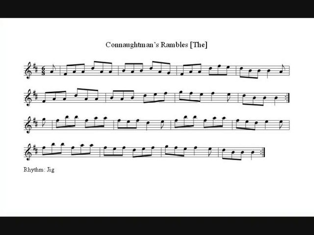 The Connaughtman's Rambles - Jig