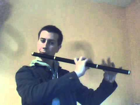 Enda Seery plays Doug Tipple Low C Flute Video 2