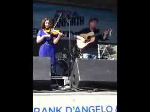 Taste of the Danforth 2013-Alana and Leigh Cline Performance