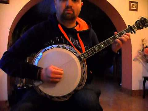 Irish Tenor Banjo Mike Hobins Mazurka