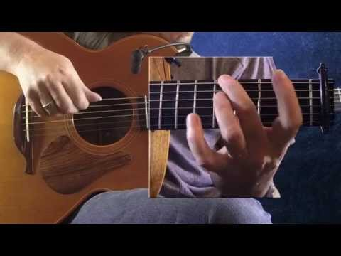 Lon Dubh - Irish Guitar - DADGAD Fingerstyle Reel