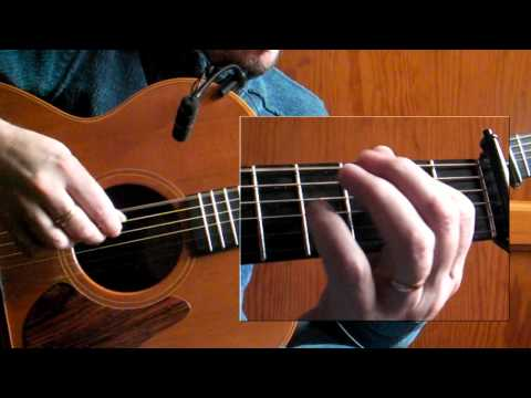 The Kesh Jig - Irish Guitar - DADGAD Fingerstyle Double Jig