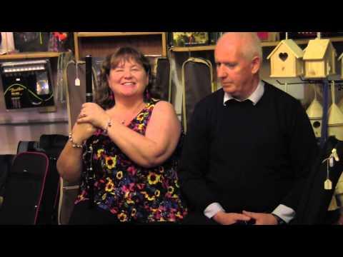Neansaí Ní Choisdealbha with Michael Hynes