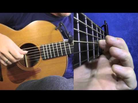 Morrison's - Irish Guitar - DADGAD Fingerstyle Double Jig