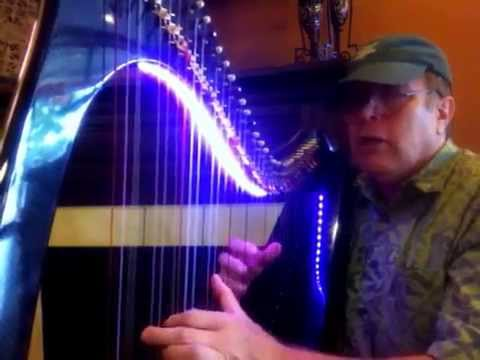 The Hills above Drumquin - All Carbon Fiber Harp - Harpin Hank Hogan