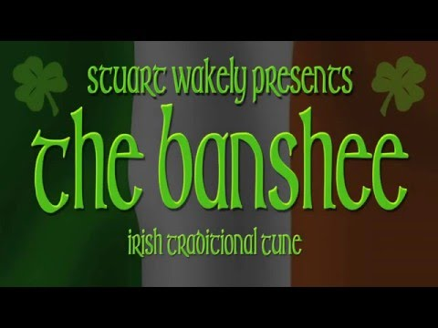 THE BANSHEE in Standard guitar TUNING NOT DADGAD by Stu Wakely