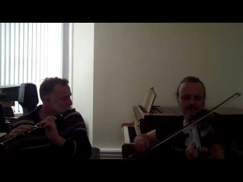 Michael Walsh & Patrick Walker: Irish Flute & Fiddle: Whitby Folk Week #Tunesday