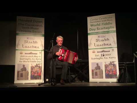 John Brosnan Accordion playing at Handed Down Scartaglin