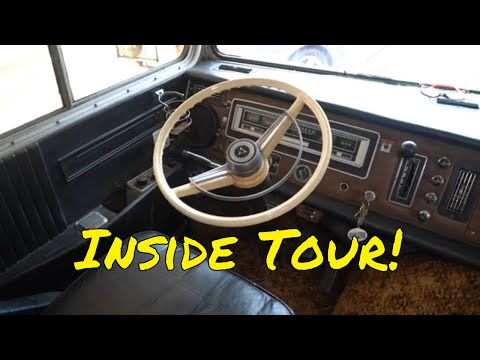 An Inside Tour of my 1970 Winnebago Chieftain D27 two Door RV.