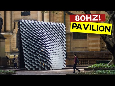 80Hz Pavilion (Rhino Grasshopper Tutorial)