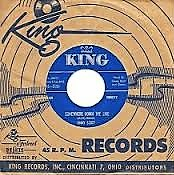 One of Jimmy Scott's King 45 Records   ~
