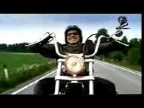 Funny Blind Guy Motorcycle Commercial