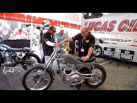 Chad McQueen and the Steve McQueen Metisse Desert Racer