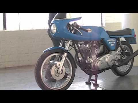 Dunstall 850 Norton Commando Start