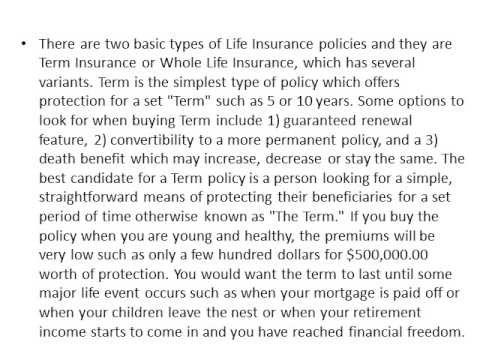 Insurance Planning Is A Crucial Part Of Your Financial Freedom of life