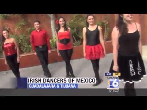 Irish Dance Mexico Guadalajara / Tijuana, St. Patricks Day, San Diego Cal. 2013
