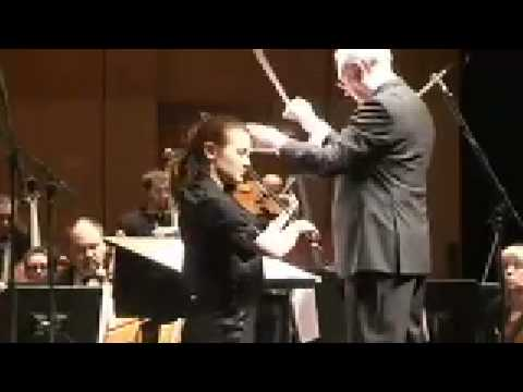 """Vincent Kennedy's music """"Dreams"""" for Solo Violin and Orchestra"""