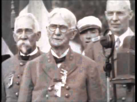 Civil War Veterans on Film, ECHOES OF THE BLUE & GRAY, Gettysburg Reunion THE VACANT CHAIR