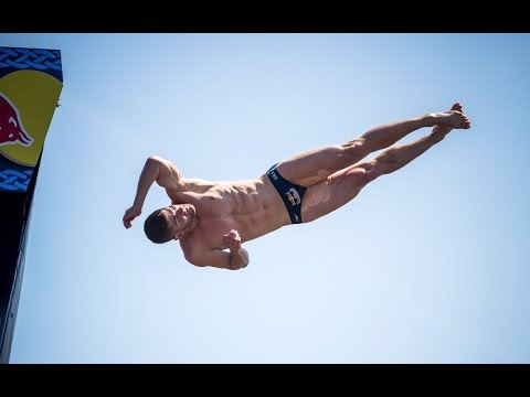 Cliff Diving in Ireland - Red Bull Cliff Diving World Series 2014