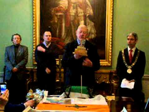 Ireland's Independence Day, Mansion House, Cabinet Room 21st January 2012.