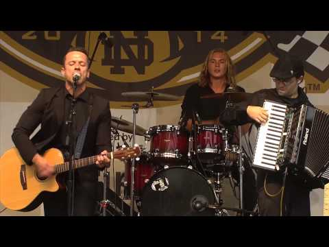"""The Fighting Jamesons - """"Uncle Michael"""" Live @ Notre Dame Shamrock Series Pep Rally"""