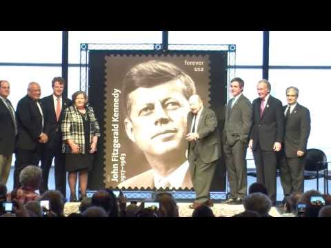 JFK Centennial Stamp Commemoration