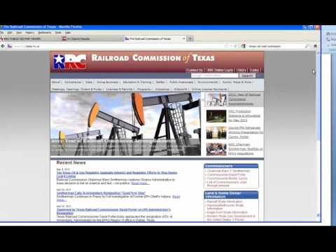 Texas Railroad GIS Tutorial
