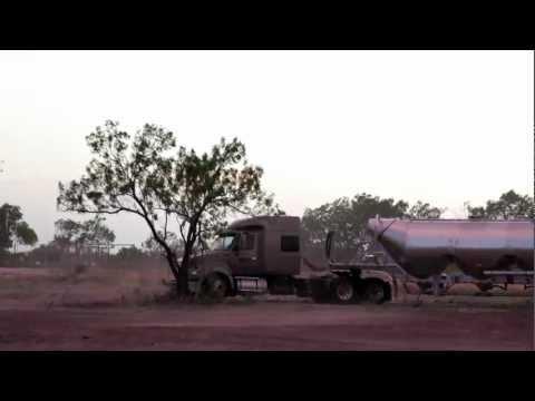 Fracking Near Tilden June 20th 2012