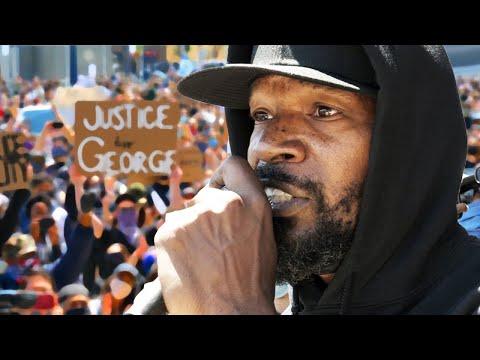 Powerful Black Lives Matter Speech by Jamie Foxx!!!