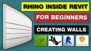 Rhino Inside Revit - Creating Walls Tutorial