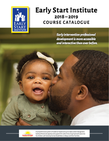 Cover of current course catalogue