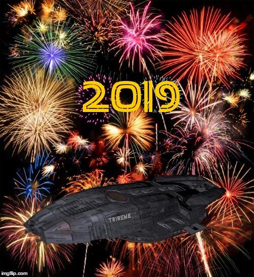 Trireme Happy new year 2019