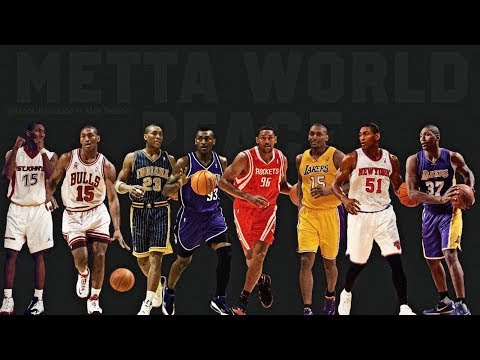 Ron Artest / Metta World Peace Career Highlight Reel