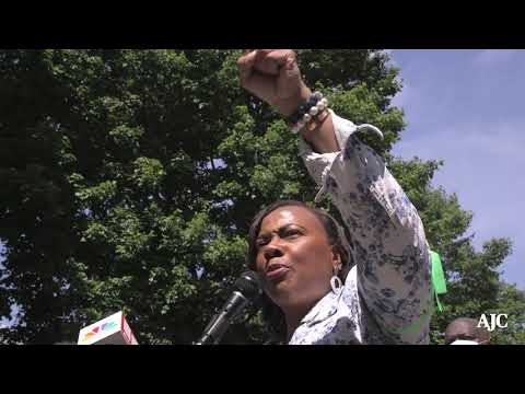 Dr. Bernice King Encourages Peaceful Protesters