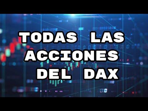Todas las acciones del DAX analizadas por Alberto Garcia Sesma